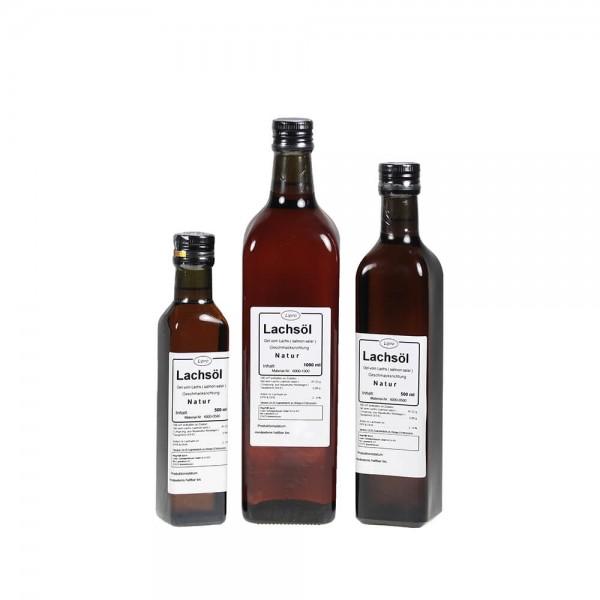 LIPRO - Lachsoel Natur 6000 - Glasflasche