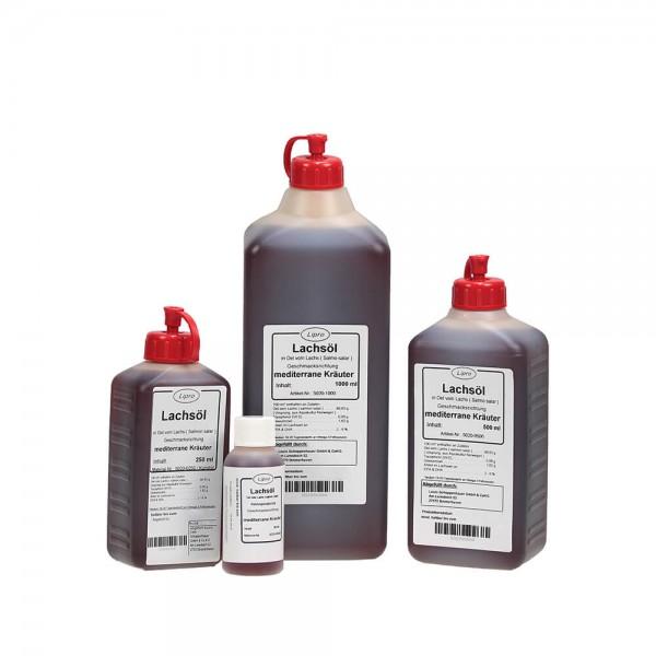 LIPRO - Lachsoel Mediterrane Kräuter - Kunststoff-Flasche