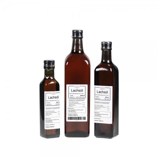 LIPRO - Lachsoel Natur für Tiere - Glasflasche