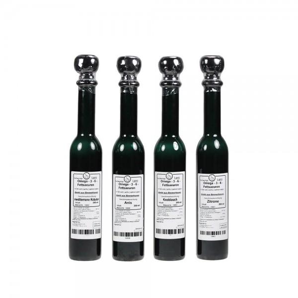Lachsoel Natur 8000 - Schmuck-Flasche